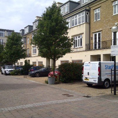 Another job at the prestigious Kew riverside development!!!