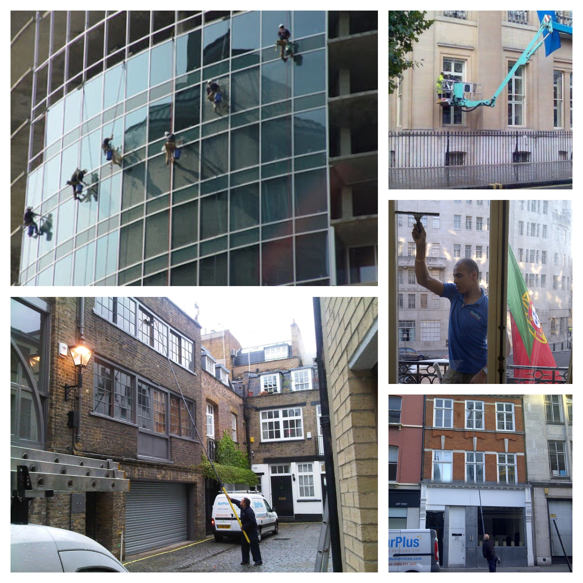 Window cleaning Central London